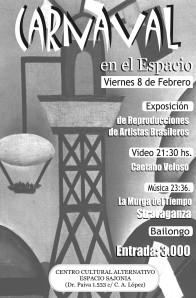 Afiche Carnavale