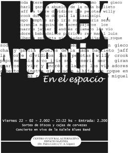 afiche rock argentino